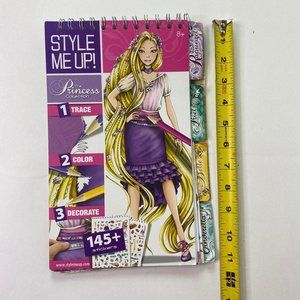 Disney Princess Collection Style Notebook Girls